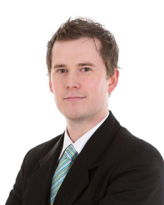 Morten Rognan arbeider med produktsupport hos Phoenix Contact.