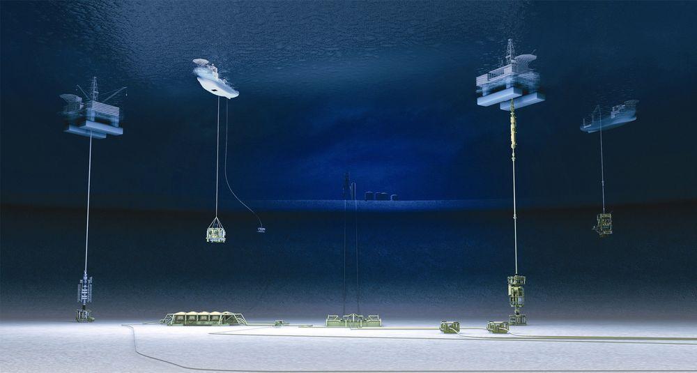 Ettersom det blir flere og flere installasjoner på havbunnen etterlyser Statoil mer standardiserte produkter. Illustrasjonen fra Gjøa.