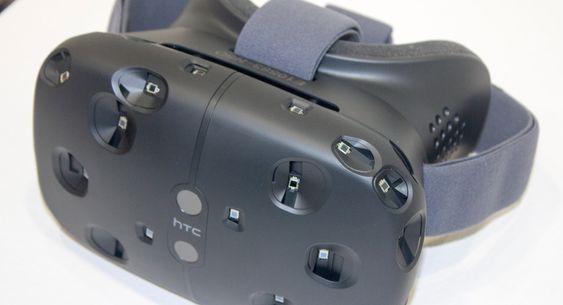 Slik ser HTC Vive altså ut.