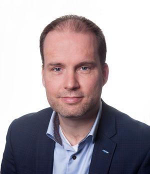 Stig-Ove Langø i Samsung Norge.