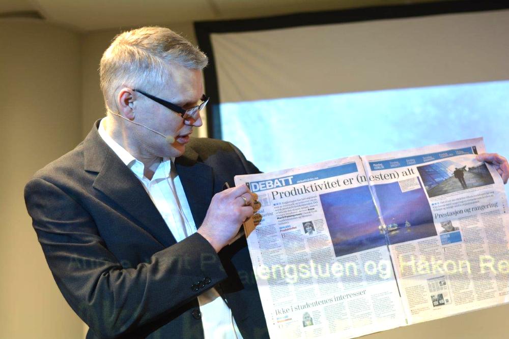 Salgsdirektør Håkon Rem er opptatt av kontinuerlig produktivitetsvekst, og mener selskapets engineeringsportal kan bidra ved å redusere gjennomføringstiden på automatiseringsprosjekter med inntil 30 prosent.