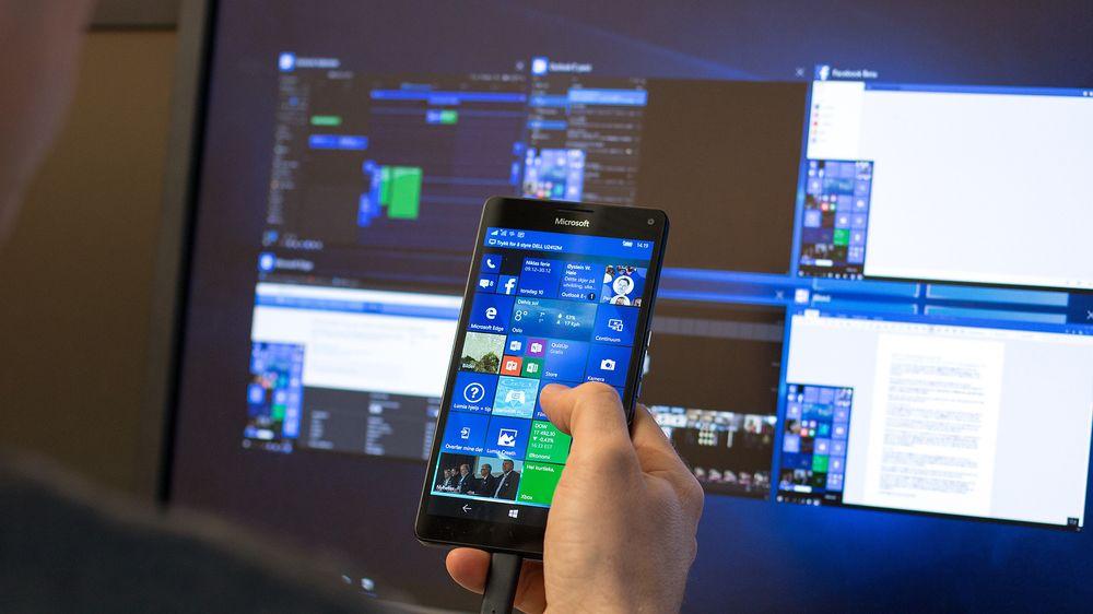 Slik er det å bruke mobilen som datamaskin