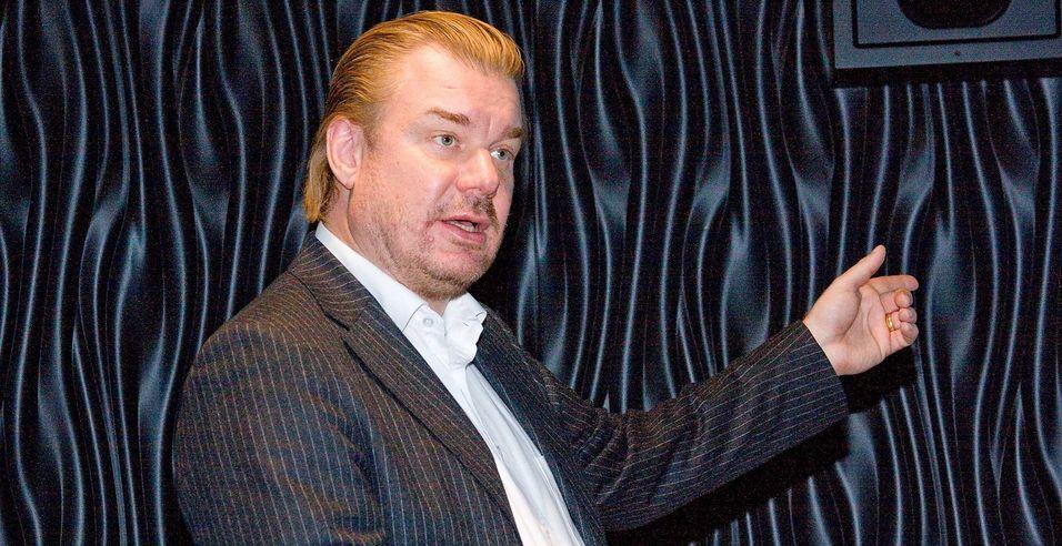 Teknologidirektør Magnus Zetterberg i Telenor Norge lover at selskapet skal ligge i forkant av utviklingen av mobilteknologi.