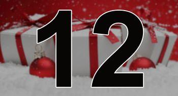 Vi er halvveis til jul, og åpner vår tolvte luke