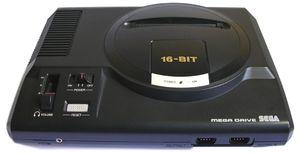 Sega Mega Drive.
