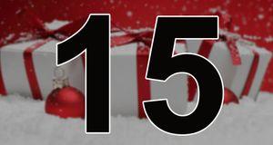 Dagens julekalender er åpnet