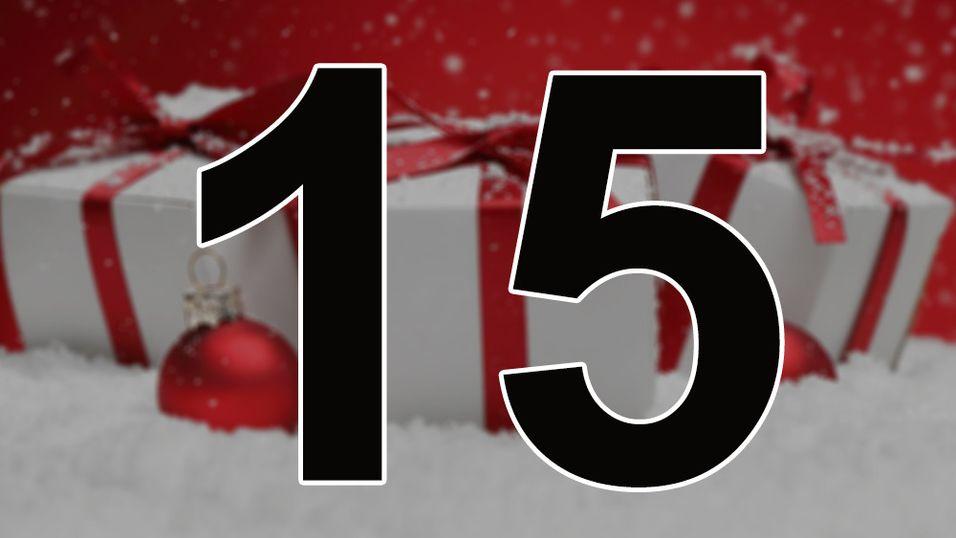KONKURRANSE: Dagens julekalender er åpnet
