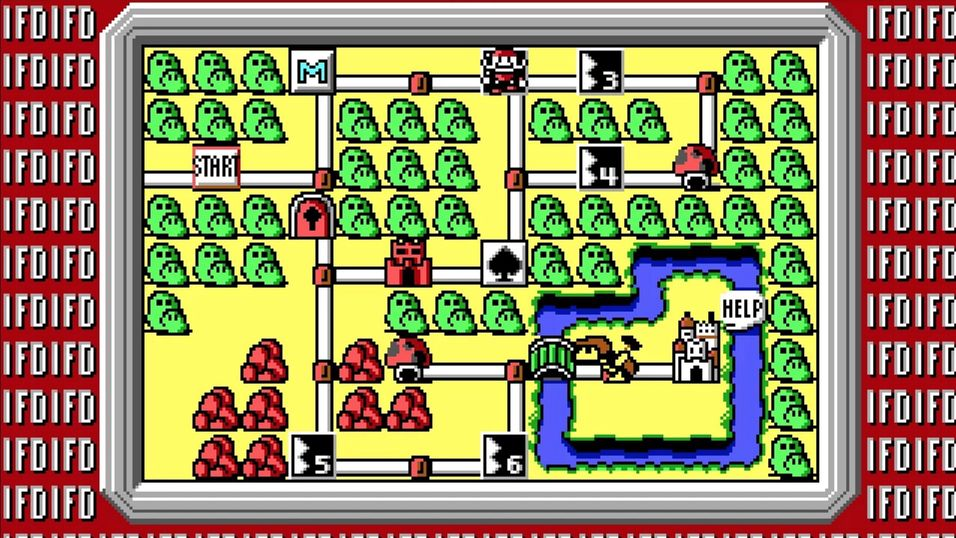 Super Mario Bros. 3-prototypen til id Software.