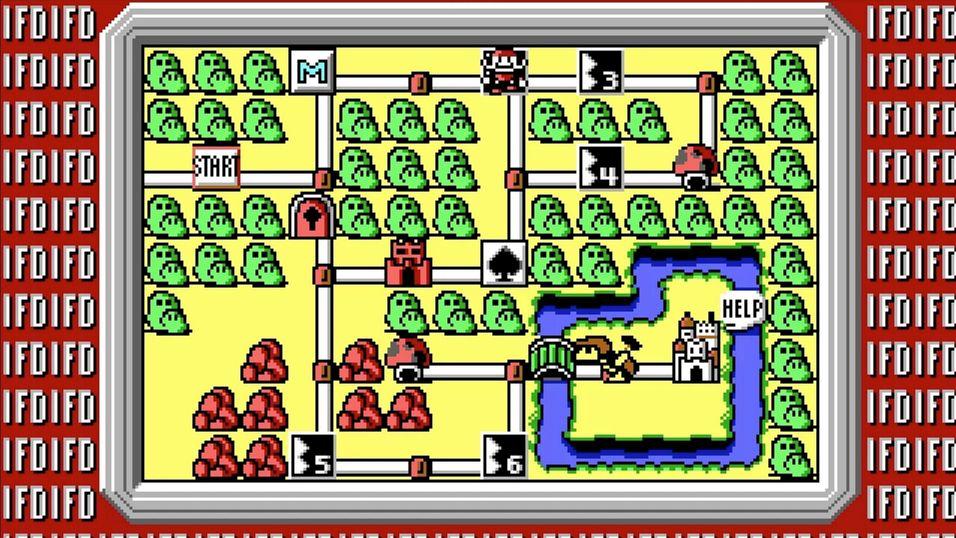 Super Mario Bros. 3-prototypen til id Software.