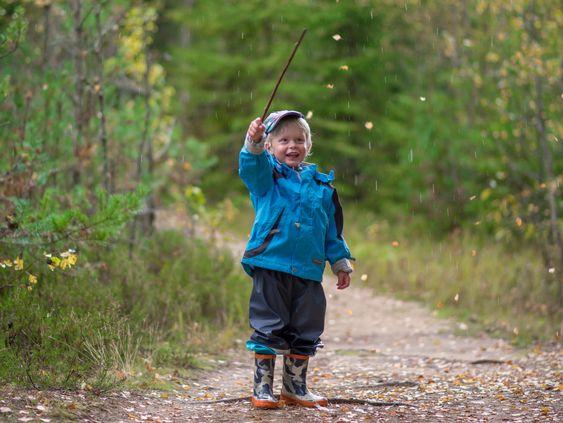 «Gutten som teller blader».