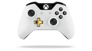 Lunar White Wireless Xbox One kontroller.