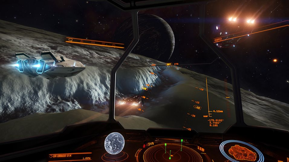 Nå kan du lande på planeter i Elite: Dangerous