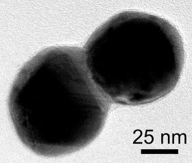 Bildet viser hvordan to og to partikler pares.