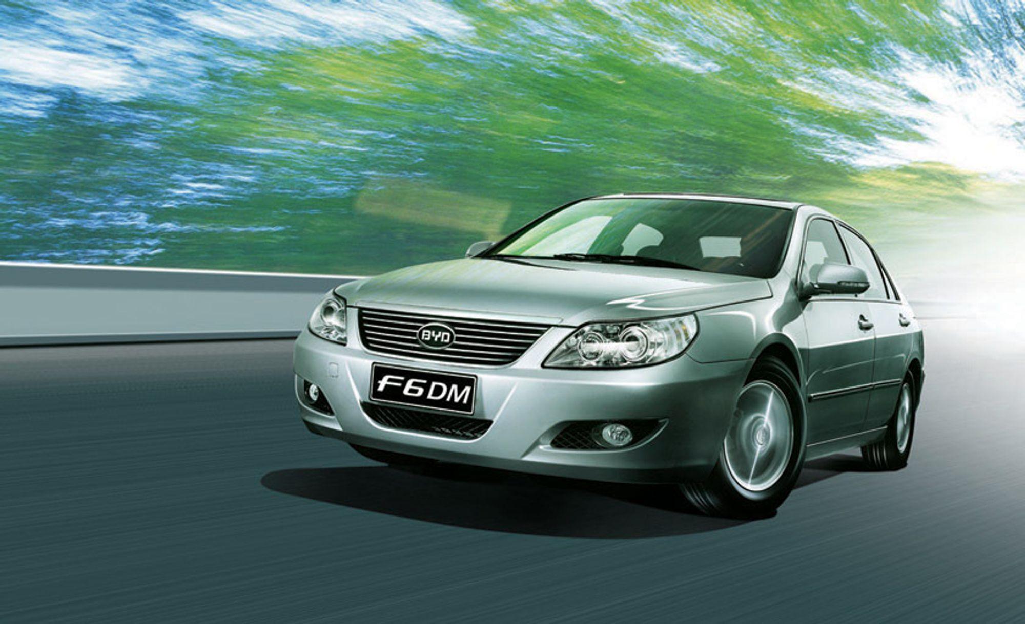BYD F6DM er en plug-in-hybrid som skal komme i salg i Kina allerede i år.