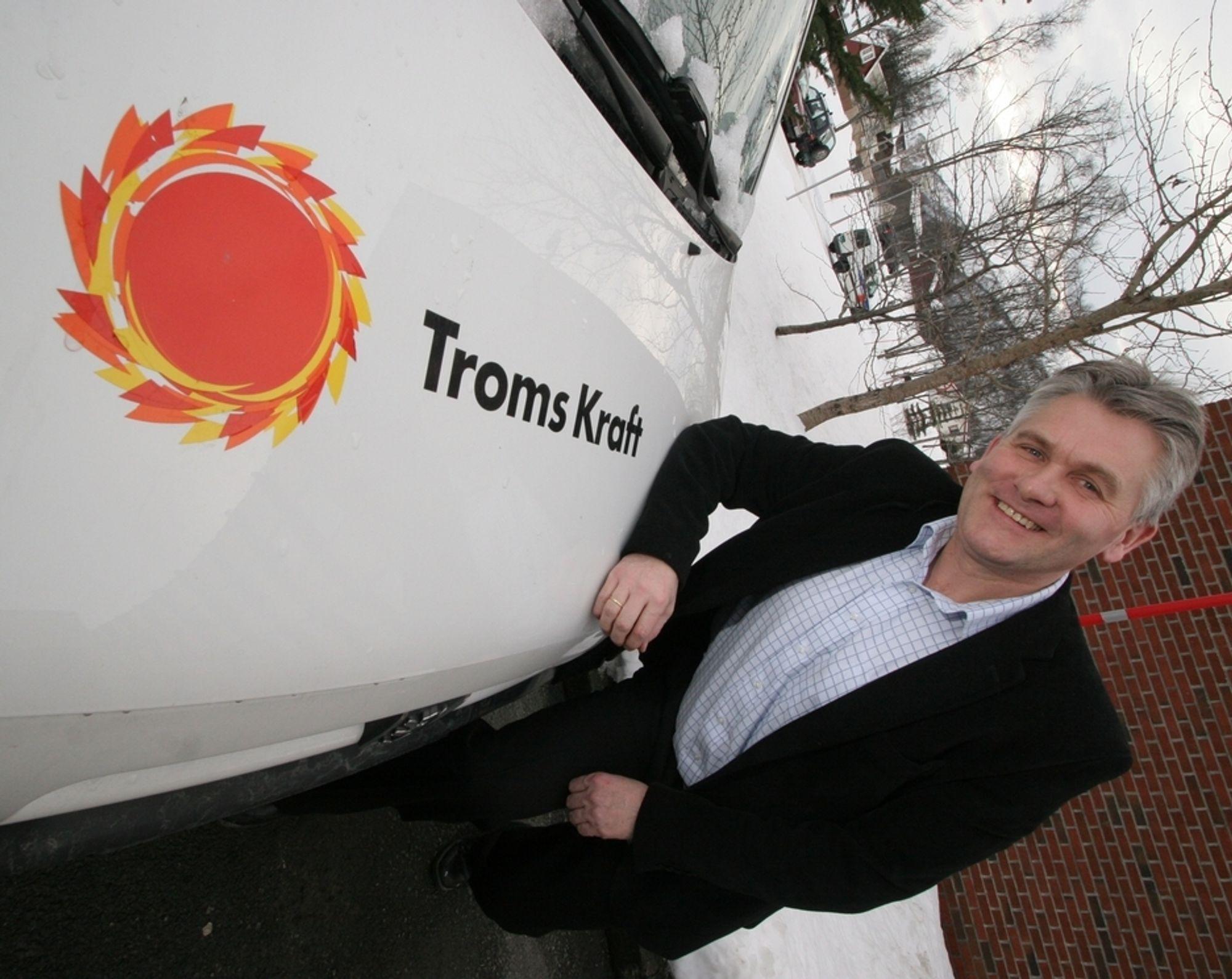 NY SJEF: Oddbjørn Schei i Troms Kraft.