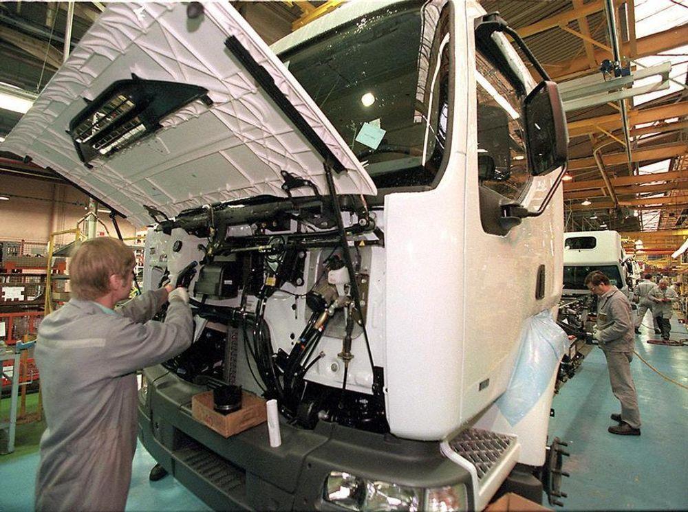 Bilfabrikk, lastebiler, lastebilfabrikk