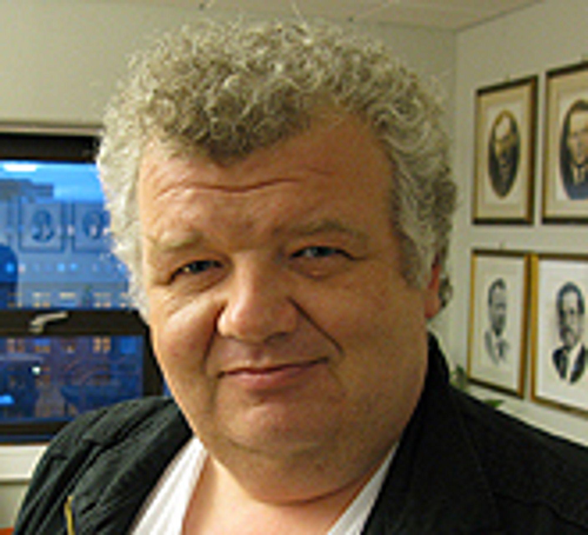 Freddy Thorsen, leder for NITOs forhandlingsutvalg i privat sektor.