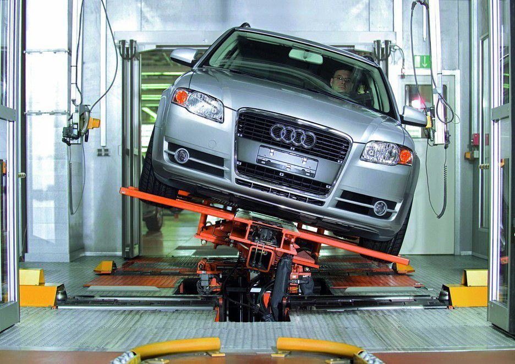 Audi A4 test / produksjon