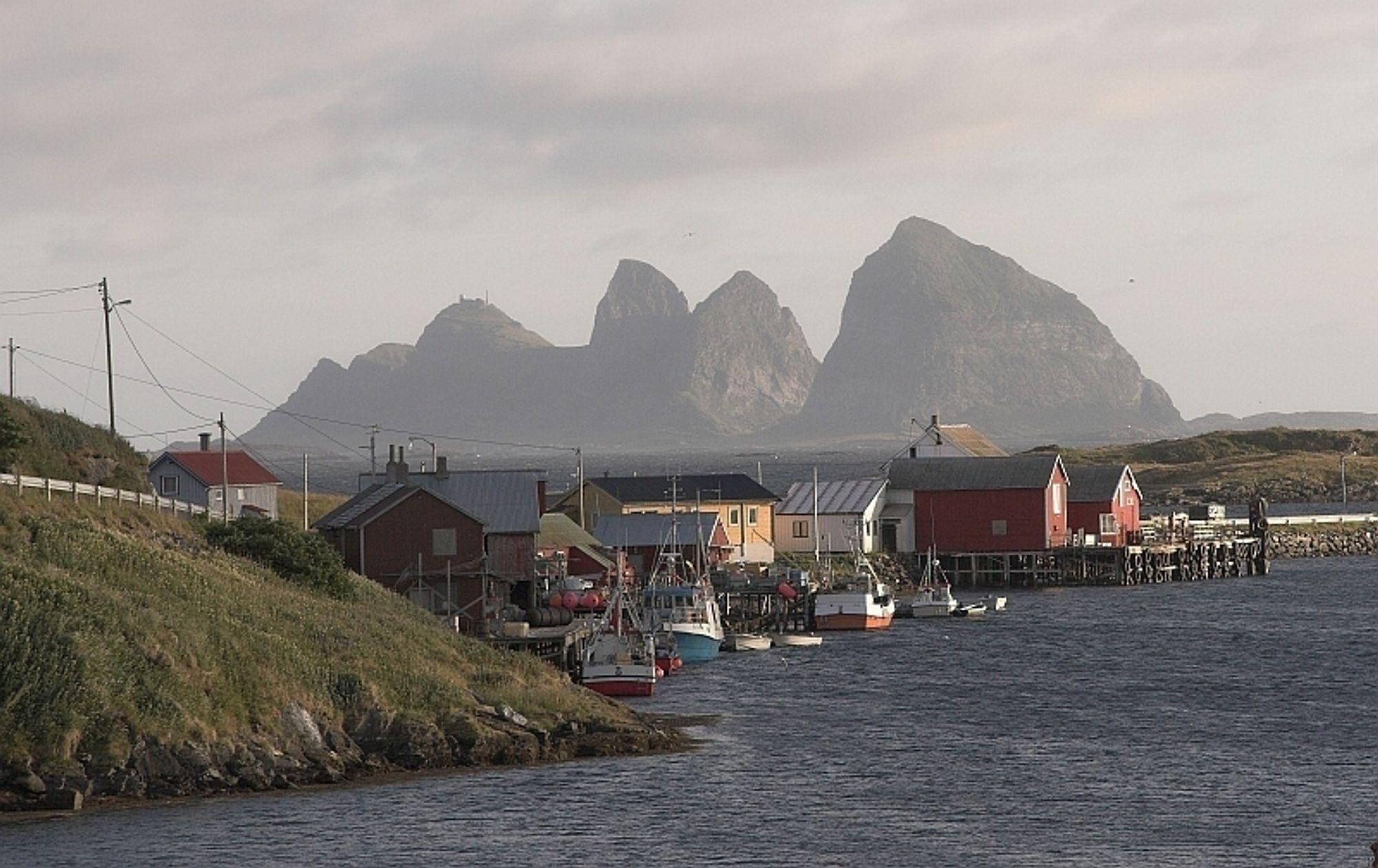 Spenning: Øysamfunnet Træna i Nordland venter spent på utfallet av møtet med energiministeren onsdag ettermiddag.