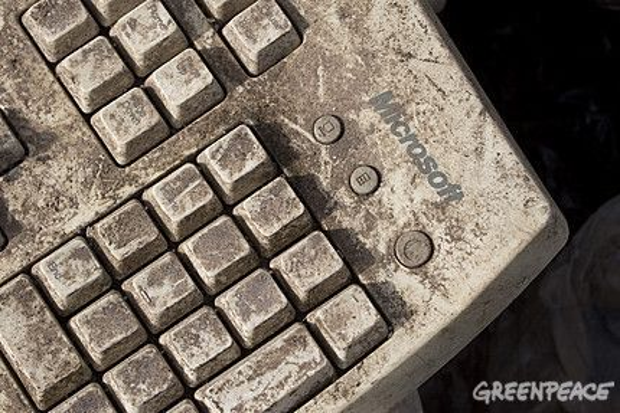 Vestlige land dumper elektronisk avfall i u-land.