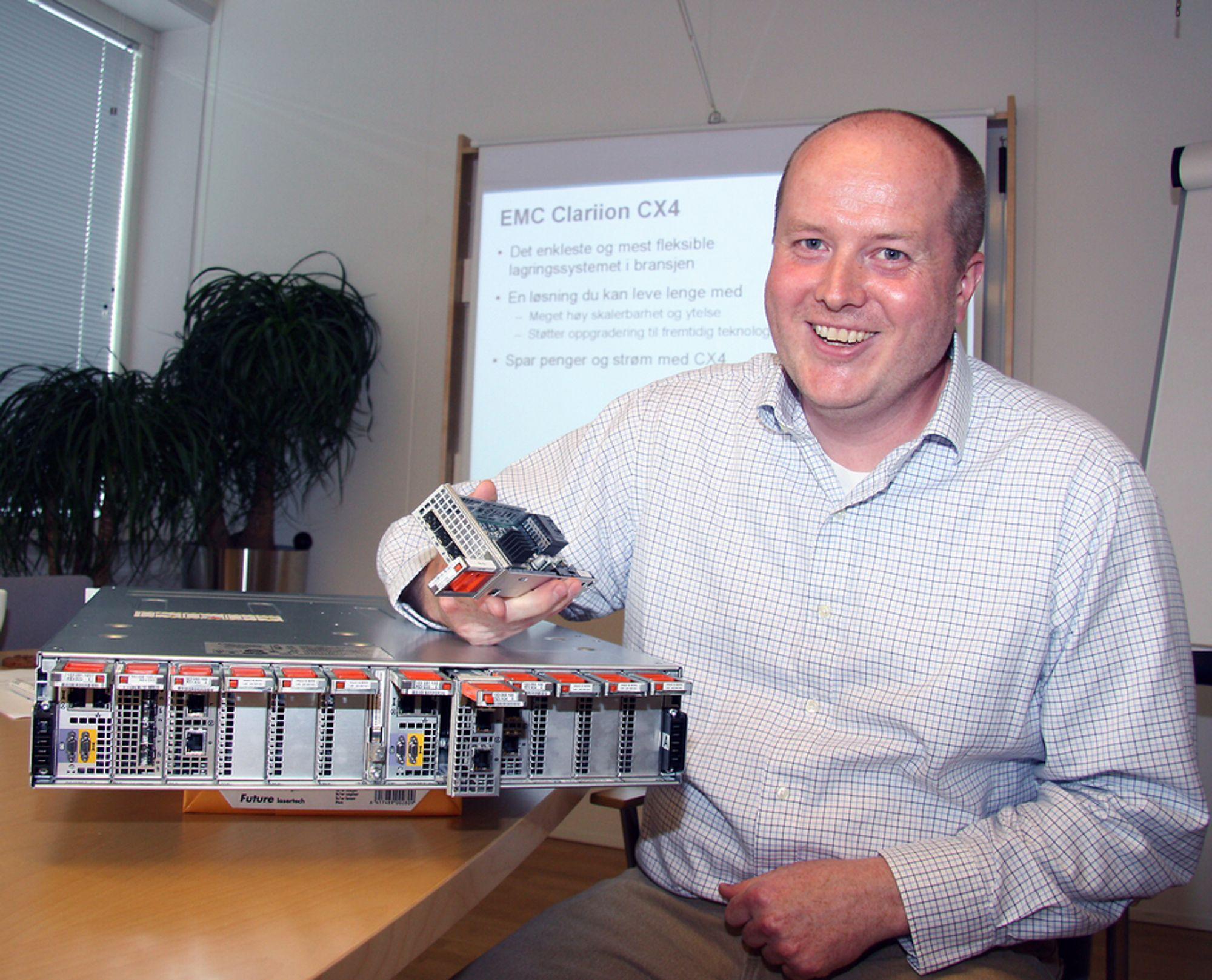 SUPERDUPER: Ingen slår den nye CX4-serien av Clarion på fleksibilitet og hastighet, mener teknologikonsulent Rover Samdal i EMC.