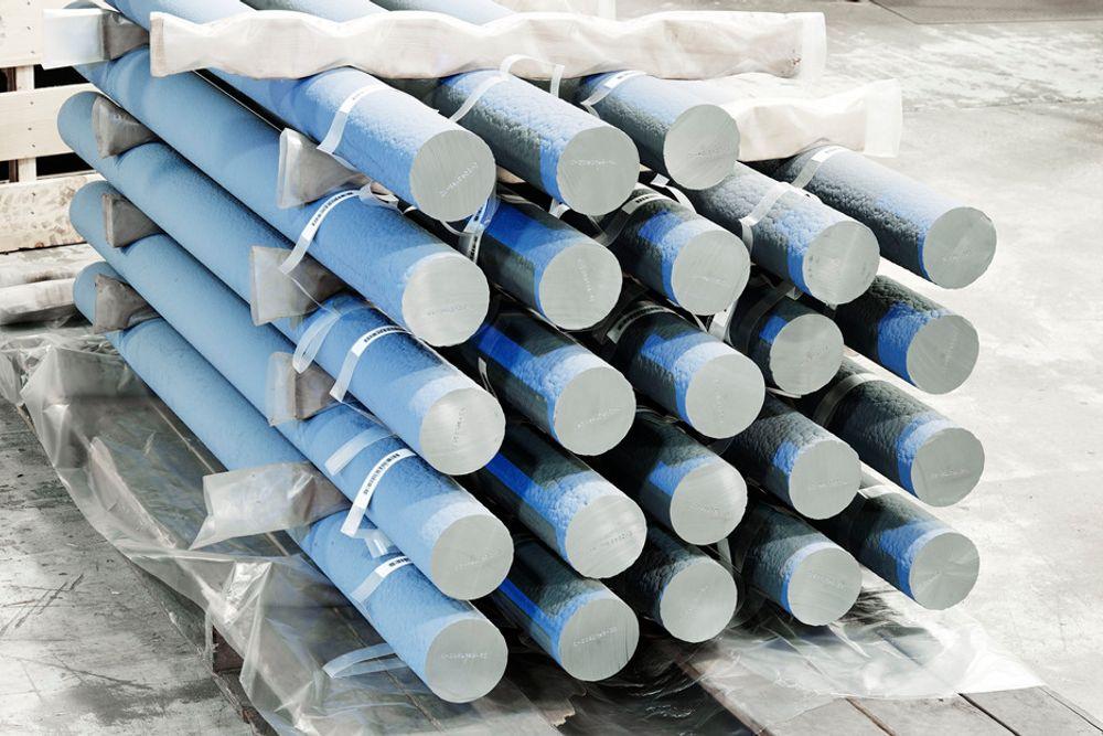 SOLSILISIUM: REC har flere fabrikker i USA, blant annet Moses Lake, hvor det produseres solsilisium av denne typen.