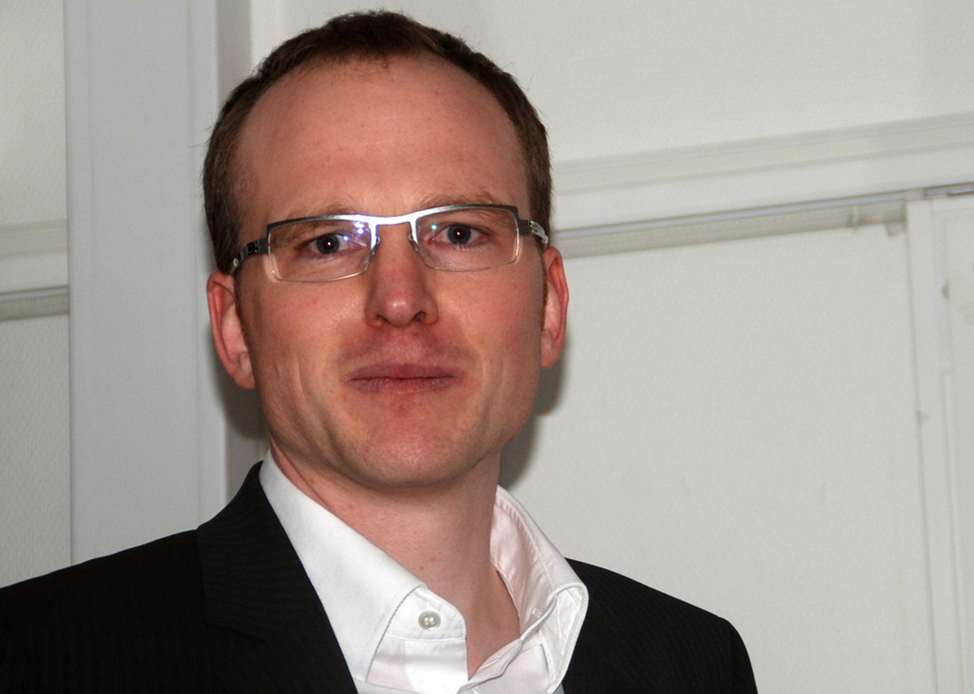 KOMPETANSE: Diplomingeniør Florian Kosche har vært veiledende ingeniør for Julien de Smedt Architects på Nye Holmenkollen Fyr - vinnerbidraget i arkitektkonkurransen for Nye Holmenkollen. Nå deltar han i prosjekteringen når bakken skal realiseres.