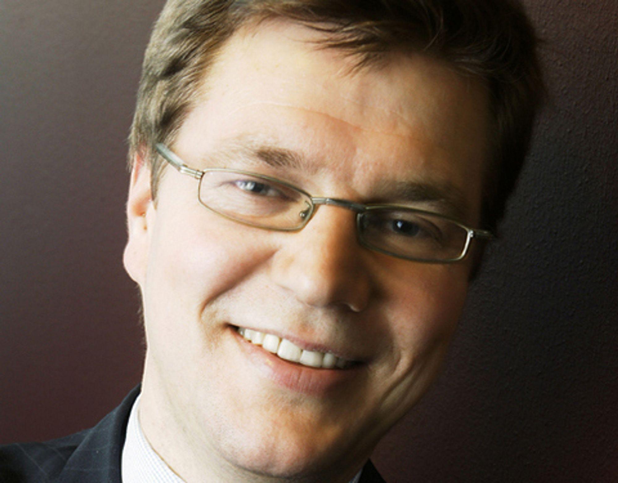 FORNØYD: Administrerende direktør Kjell André Engen i Capgemini Norge.