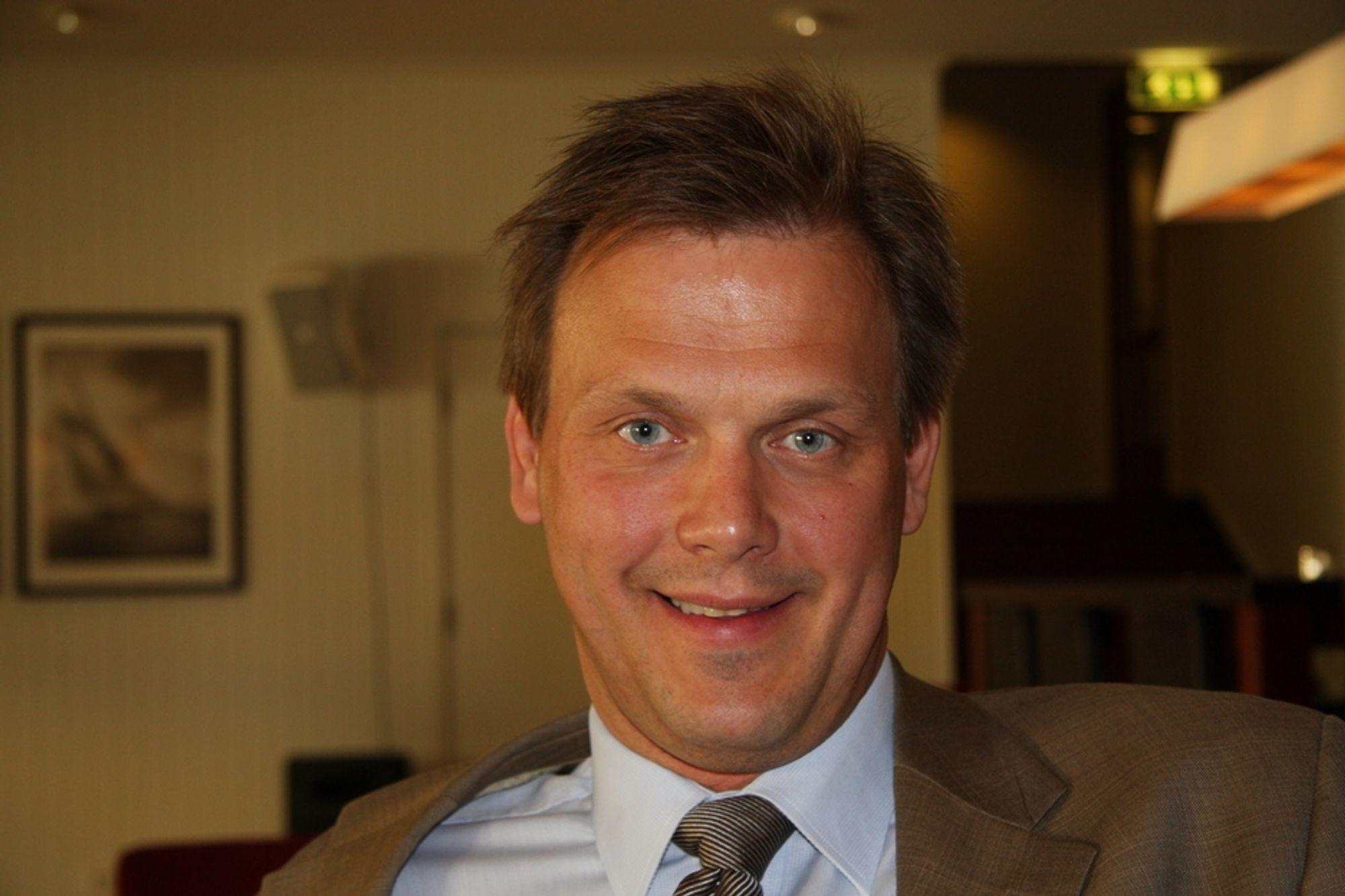 Forskningsrådet har fått inn rekordmange søkere til Renergi-programmet, noe avdelingsdirektør Fridtjof Unander er svært fornøyd med.