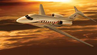 BILDESERIE: Cessnas nye luksusjet