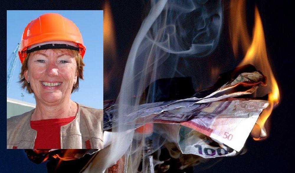 INGEN SEDDELBRANN: GIEK-direktør Wenche Nistad avviser at IT-bransjen er glemt i eksportgarantiordningene.