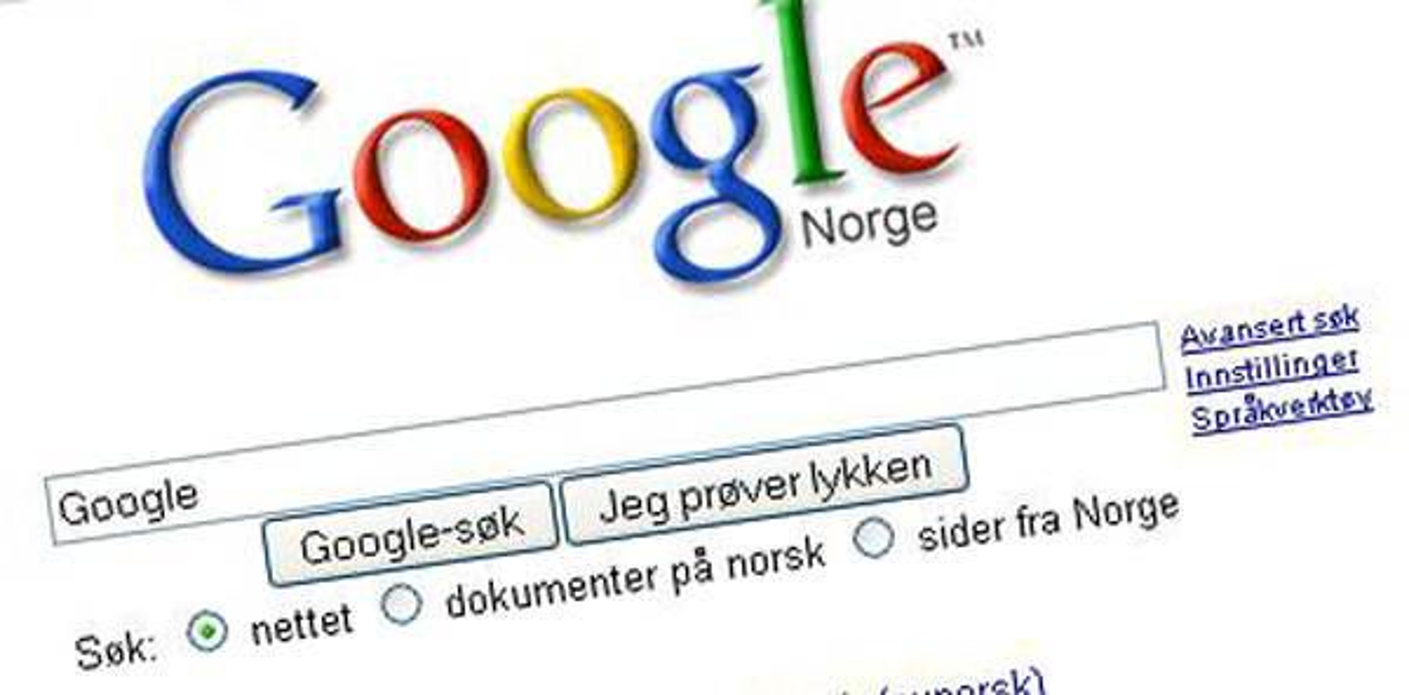 VIL SKJULE DET EKSTREME: Google vil sørge for at søkeresultater som fremmer ekstremisme havner langt ned på søkeresultat-listene.