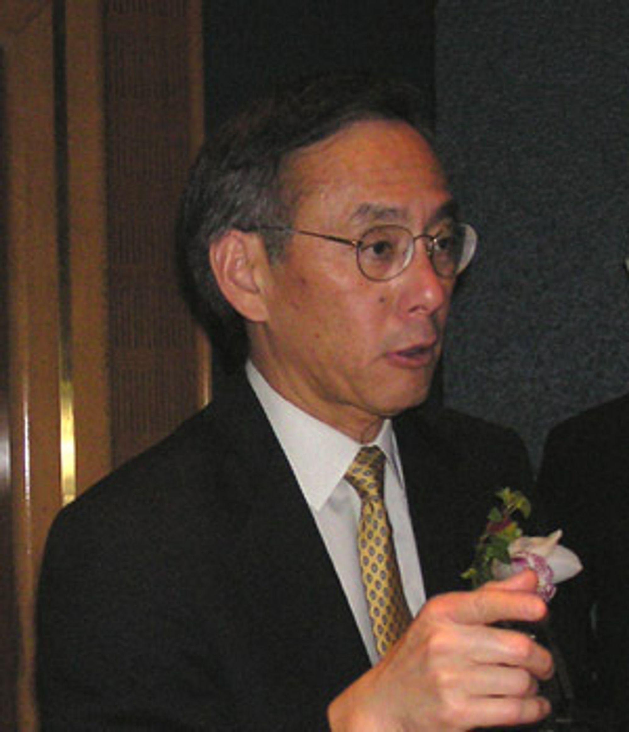 Steven Chu er nobelprisvinner i fysikk og regnes som en ledende ekspert på alternativ energi.