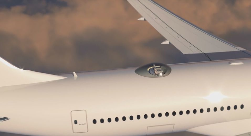 Ta heisen opp på flytaket