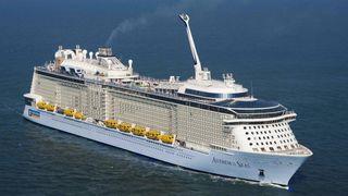 80 prosent ferdig: Snart er verdens største cruiseskip klart for levering