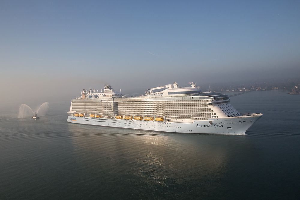 Anthem of the Seas er det andre som er levert i Quantum-klassen. Det er verdens nest største cruiseskip med et bruttovolum på 167.00 tonn. Norske leverandørrer er med på alle fem skipene i klassen.