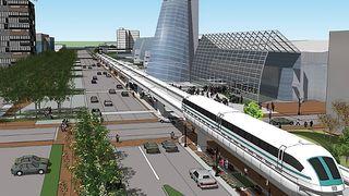 Svevetog: Her bruker de teknologien som er foreslått mellom Oslo og Bergen