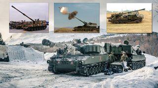Vinterduell avgjør hvilket artilleri Forsvaret skal kjøpe