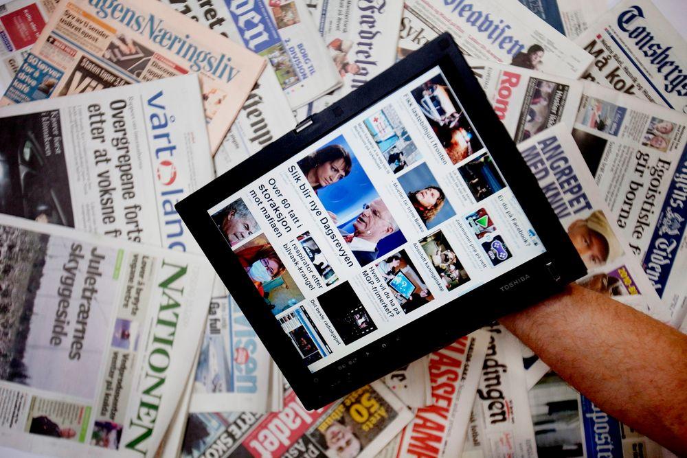 Nå er det flere som leser nettaviser enn papiraviser.