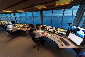 Digitalisering av maritim næring blir ett av områdene det nye Kongsberg-selskapet ska jobbe med.