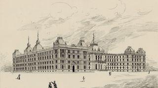 Nå skal regjeringskvartalet utformes på nytt. Se forslagene fra 1891