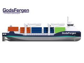 Konseptet GodsFergen kan bli det første som realiseres som demoprosjekt i Grønt Kystfartsprogram.
