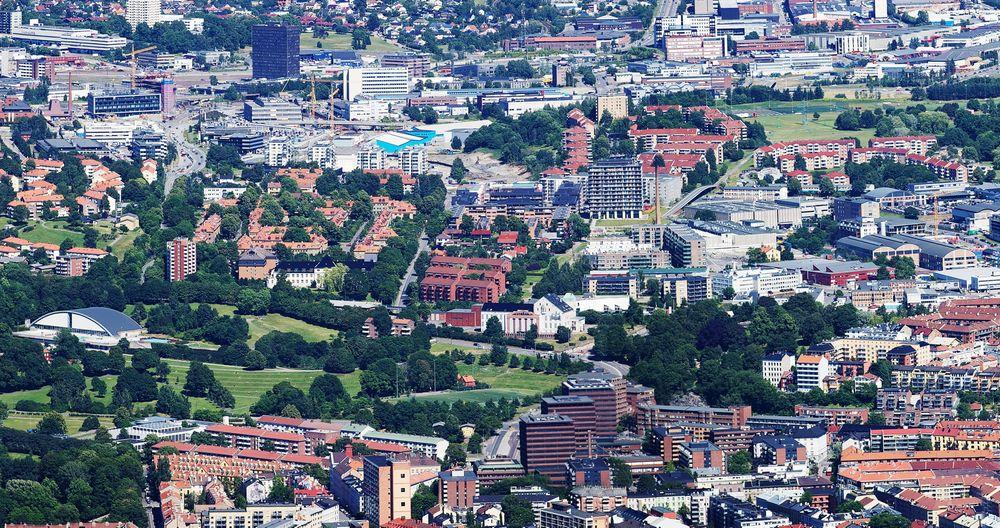 Her, på Tøyen i Oslo, vil IKT Norge etablere Norges nye startup-bydel.