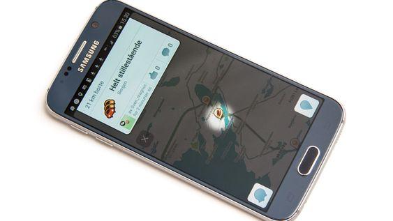 Waze er en sosial bilnavigasjonsapp.