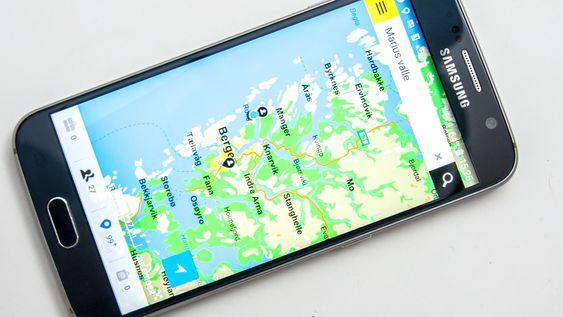 Gule Siders GPS-app gjør det enkelt å finne bedrifter og personer direkte.