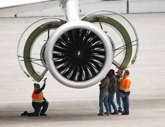 PW1100G-motoren før sin først flygning. Denne brukes på Airbus A320 Neo.