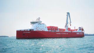 Kvitbjørn og Kvitnos blir verdens mest miljøvennlige godsskip