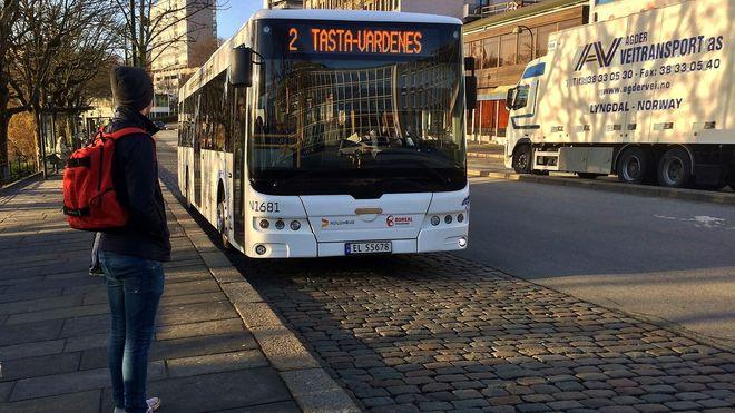 Her kjører Norges første elbusser i rutetrafikk