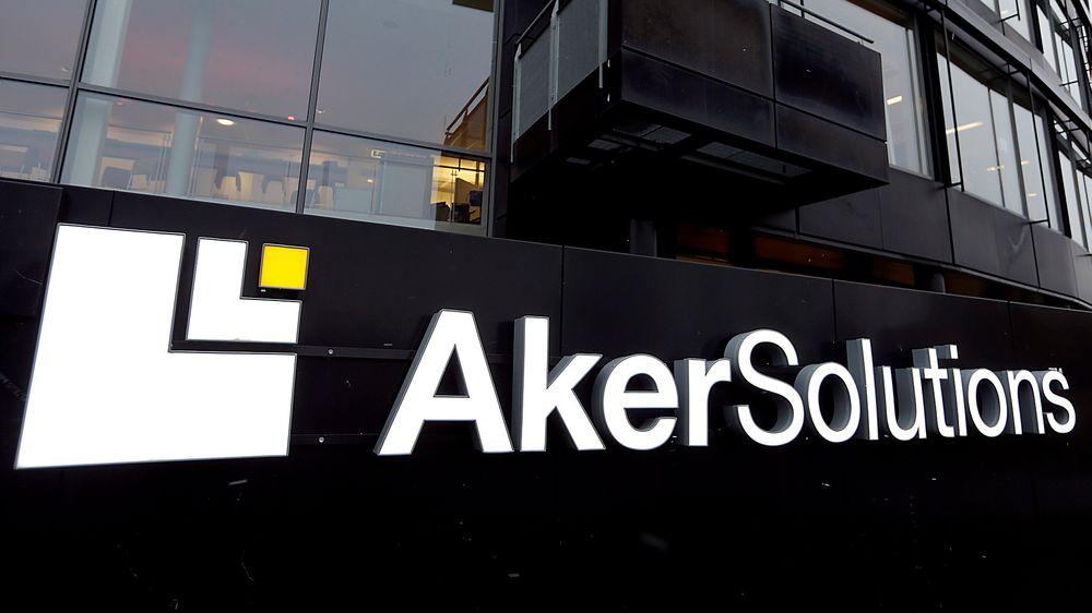 PST aksjonerte i dag i Aker Solutions kontorer på Snarøya utenfor Oslo.