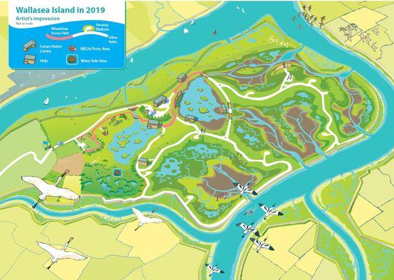 Wallasea island består av 3 millioner tonn masser fra utgravingen av Crossreil under London.